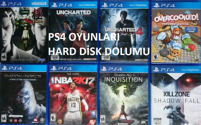 PS4 OYUNLARINI HARD DİSKE YÜKLEME | KONSOL HACK ve GELİŞTİRME